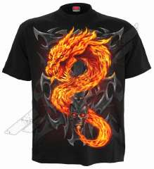 T-shirt FIRE DRAGON