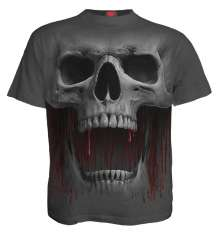 T-shirt DEATH ROAR - Charcoal