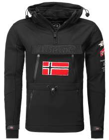 Muška Softshell jakna Geographical Norway Tuilding