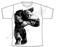 Halo Master Chief White T-shirt