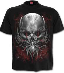 T-Shirt Spiral Direct SPIDER SKULL