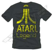 T-shirt Atari Anthracite, Legend Logo