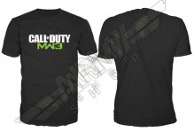 Majica Call Of Duty Black, MW3 Logo Mens